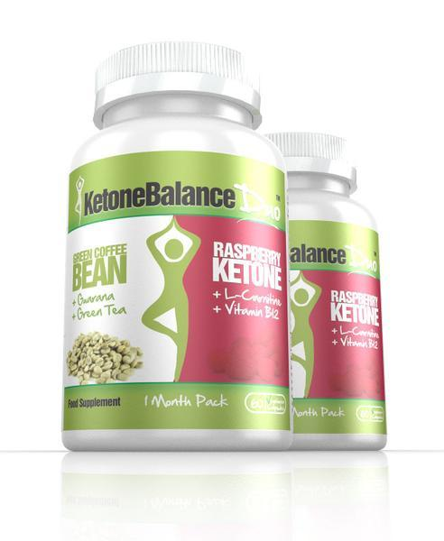 Primary image for KetoneBalance Duo with Raspberry Ketones & Green Coffee Extract 2 Month Supply