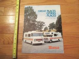 Winnebago Motorhome Itasca 1976 RV Vintage Dealer sales brochure - $14.99