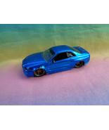 Jada 2002 Nissan Skyline GT-R 1/64 Metallic Blue - as is - $5.93