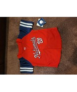 Toddler MLB Jersey Stripes Washington Nationals 18M - $14.75