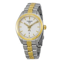 Tissot PR 100 Silver Dial Two-Tone SS Quartz Ladies Watch T1012102203100 - $369.33