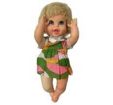 """1967 Vintage Mattel Baby Small Talk Pre Owned 10""""  - $18.49"""