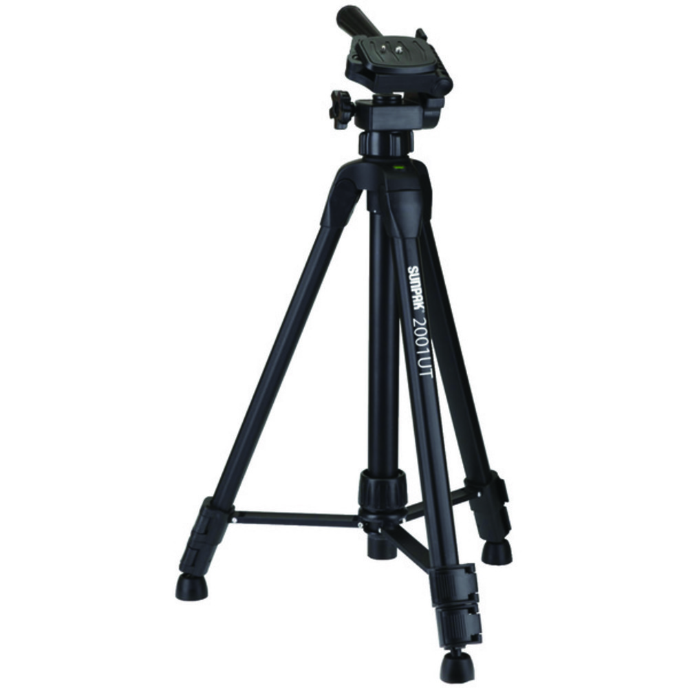 "Primary image for Sunpak 620-020 Tripod with 3-Way Pan Head (Folded height: 18.5""; Extended height"