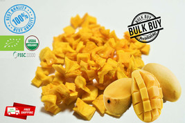 Organic Ceylon Dried Mango 5-7 mm dices Pure High Quality ANTIOXIDANT,CL... - $5.66+