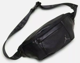 NIKE AIR JORDAN FANNY PACK BLACK JUMPMAN REGAL AIR CROSSBODY BAG 9A0170 023 - $44.00