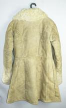 Tulup Russian Bekesha Winter Officer Sheepskin Coat Army USSR Shearling Jacket - $99.00