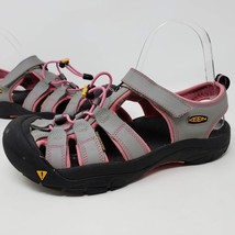 KEEN NEWPORT WOMENS GRAY PINK SANDALS SHOES OUTDOOR HIKING TRAIL WATER S... - $36.68