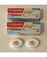 Colgate Total SF Sensitivity Relief Toothpaste .88oz Travel Size Clean M... - $6.99