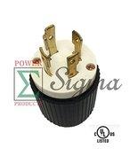 NEW MALE PLUG NEMA-L14-30 UL Listed Locking Generator Plug 30A 125/250V ... - $14.73