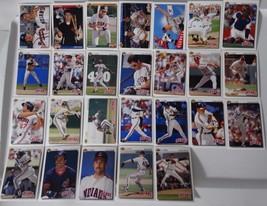 1992 Upper Deck UD Cleveland Indians Team Set of 26 Baseball Cards - $4.00