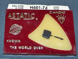 Astatic N601-7d NEEDLE for RONETTE Stereo OV T-105 106 T-MTG TO-208 291 293 image 1