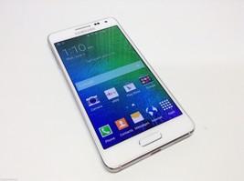 Samsung Galaxy Alpha SM-G850 - 32GB - Frost White Factory Unlocked Smartphone image 1