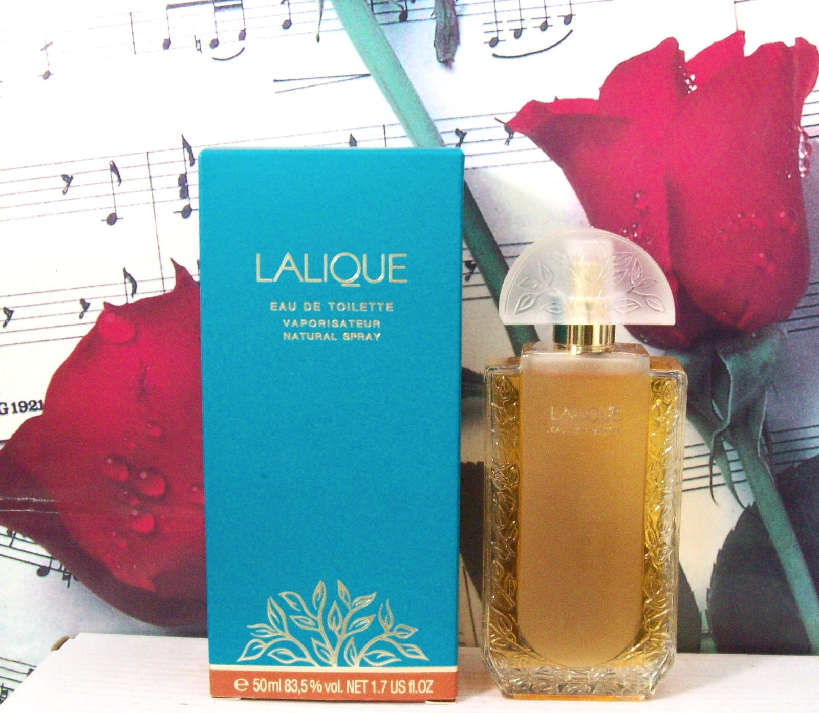 Primary image for Lalique Classic For Women EDT Spray 1.7 FL. OZ. NWB