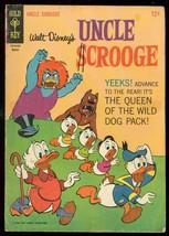 Uncle Scrooge #62 1966-WALT DISNEY-GOLD Key Comic Barks Vg - $37.25