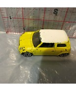 Yellow 2001 Mini Cooper  Loose Diecast Car AJ - $5.45