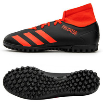 Adidas Predator 20.4 S TF Turf Football Shoes Soccer Cleats Red EE9584 - $84.99