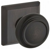 Baldwin TRA-TSR Traditional Reserve Knob with Traditional Square Rose - $45.62