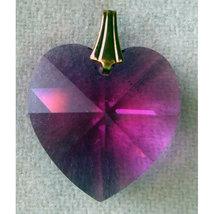 18mm Crystal Heart Hair Jewel image 1