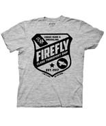 Firefly / Serenity Firefly Class Transport Ship Shield Logo T-Shirt NEW ... - $17.99