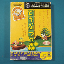 Doubutsu no Mori + / Animal Crossing (Nintendo Gamecube GCN, 2001) Japan... - $8.90