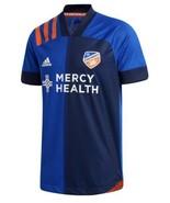 Adidas FC Cincinnati  Authentic Home Soccer Jersey New! 2020-21 - $54.99