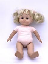 "Vintage Madam Alexander Doll Co 18"" inch doll Blonde Hair Marked 1999 - $39.08"