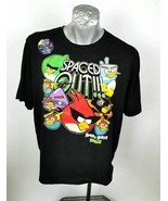 Angry Birds T-Shirt Size XL Spaced Out Short Sleeve New - $24.99