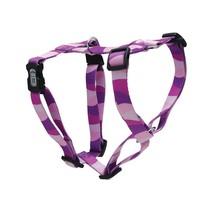 Dogit Style Adjustable Harness Stripe Purple  L NWOT Keeps your dog secu... - $12.86