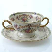Rosenthal WESTBURY Two Handled Bouillon Cup and Saucer (Multiple Available) - $46.71