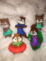 2009 & 2011 McDonalds Alvin and the Chipmunks, Leannette, Theodore Lot 5 - $6.93