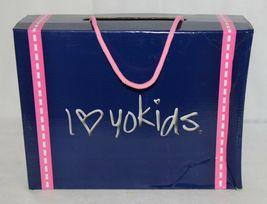 I Love Yo Kids AVA 78K Girls Fringe Boot Rust Silver Studded Size 13 image 8