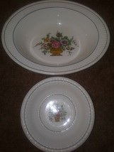 "ANTIQUE BELMAR WEDGWOOD Replacement Oval Vegetable Bowl 10.25"" Small Bow... - $19.99"