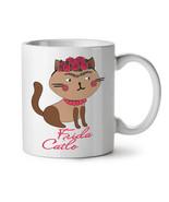 Frida Kahlo Cat NEW White Tea Coffee Mug 11 oz | Wellcoda - $15.99
