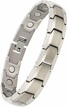 Titanium Magnetic Therapy Bracelet Adjustable For Pain Relief Arthritis ... - $64.99