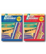 Accent On Achievement with Interactive CD for Trumpet Bb- Two Book Set -... - $15.86