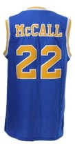 McCall #22 Crenshaw High Love And Basketball Movie Jersey New Blue Any Size image 5