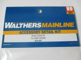 Walters Manline Stock #910-257 Diesel Detail Kit for EMD SD60M HO Scale image 3