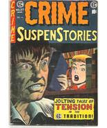 CRIME SUSPENSTORIES #27 EC PUBLICATIONS Kamen 1955 Evans Kreigstein Ghas... - $183.14
