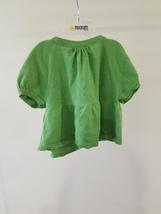 Gap Brand Girls Kids Children Top Sweater Cardigan Size 8 Green Short Sleeves  image 3