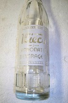 Vintage Wieco carbonated beverages Marion Wisconsin glass soda bottle 7 ... - $17.41