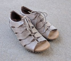 Natural soul Naturalizer Beatrice Women's Sandals Bootes Size 7 Nude - $28.06