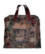French Cafe Tapestry Bag, French Carpet Bag, Tapestry Carpet Bag, XXL Bag - $239.00