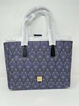 Disney Dooney & and Bourke Haunted Mansion Purple Wallpaper Tote Purse 2... - $257.39