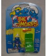 Vintage 1996 Smurfs SMURFETTE Minimates Plastic Toy Action Figure TOY IS... - $16.34