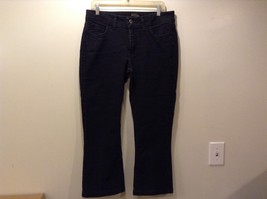 Riders by Lee Black Cropped/Capri Jeans Sz 12P