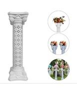 White Venetian Roman Wedding Columns Venue Decorations Flower Plate Set - $37.39+