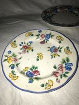 HAZELBURY by Laura Ashley, Small Side Bread and Butter Floral Plates (3) EUC image 3