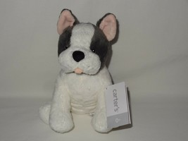 "NWT Carters Plush Toy Stuffed Animal Dog Puppy 8.5"" Lovey French Bulldog... - $27.99"