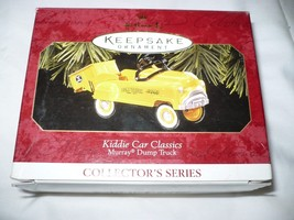 Hallmark Keepsake Ornament Kiddie Car Classics Murray Dump Truck - $10.88
