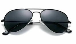 COASION Classic Polarized Aviator Mirrored Sunglasses with UV400 Protection image 1